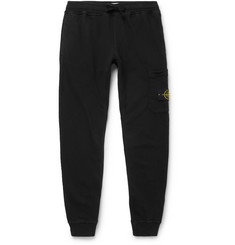 Stone Island Loopback Cotton-Jersey Sweatpants