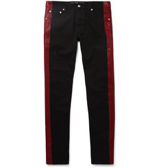 Alexander McQueen - Paint-Detailed Denim Jeans