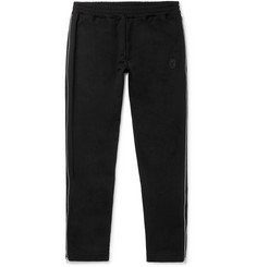 Alexander McQueen Zip-Trimmed Loopback Cotton-Jersey Sweatpants