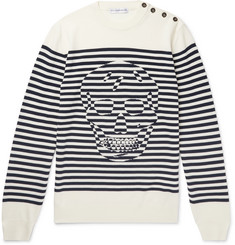 Alexander McQueen Striped Wool Sweater