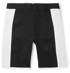 Alexander McQueen Slim-Fit Cotton-Twill Bermuda Shorts