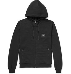 Dolce & Gabbana Cotton-Jersey Zip-Up Hoodie