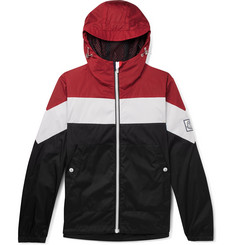 Moncler Gamme Bleu Colour-Block Ripstop Jacket