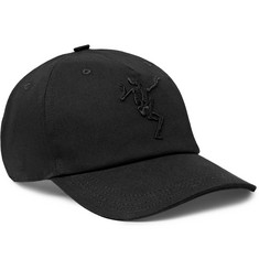 Alexander McQueen - Embroidered Stretch-Cotton Twill Baseball Cap