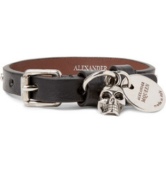Alexander McQueen Studded Leather Bracelet