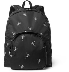 Alexander McQueen Printed Shell Backpack