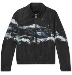 Neil Barrett Printed Shell Blouson Jacket
