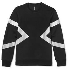 Neil Barrett Panelled Neoprene Sweatshirt