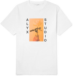 ALYX Printed Cotton-Blend Jersey T-Shirt