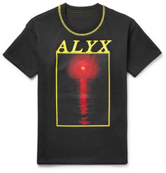 ALYX Reversible Printed Cotton-Blend Jersey T-Shirt