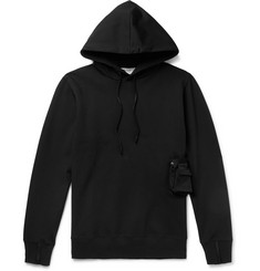 ALYX Loopback Jersey Hoodie with Detachable Shell Pouch