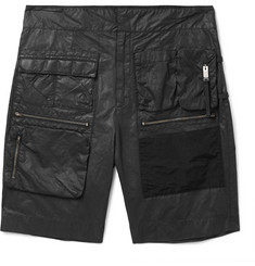 ALYX Slim-Fit Stretch-Cotton Shell Cargo Shorts