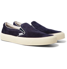 TOM FORD Cambridge Suede Slip-On Sneakers