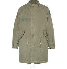 visvim Six-Five Cotton-Blend Fishtail Parka
