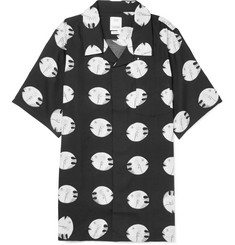 visvim - Camp-Collar Printed Silk and Cotton-Blend Shirt