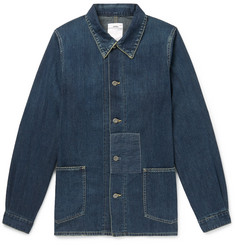 visvim Distressed Denim Chore Jacket