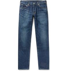 Social Sculpture 10 Distressed Denim Jeans by Visvim