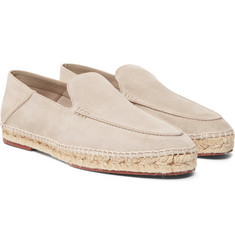 Loro Piana - Seaside Walk Suede Espadrilles