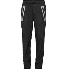 Moncler C Tapered Reflective-Trimmed Shell Trousers