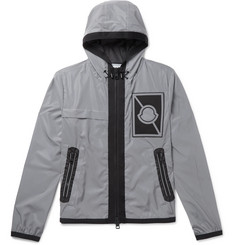 Moncler C Gauss Appliquéd Reflective Shell Jacket