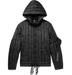 Moncler C Quilted Shell Hooded Down Jacket