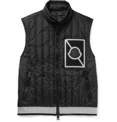 Moncler C - Alasia Slim-Fit Appliquéd Quilted Shell Down Gilet