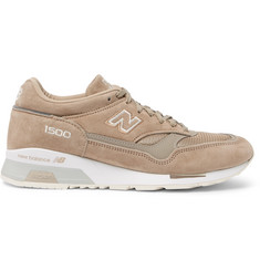 New Balance 1500 Suede, Leather and Mesh Sneakers