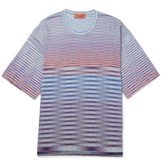 Missoni Space-Dyed Knitted Cotton T-Shirt