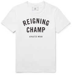 Reigning Champ Printed Ring-Spun Cotton-Jersey T-Shirt