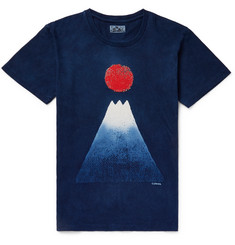 Blue Blue Japan - Indigo-Dyed Cotton-Jersey T-Shirt