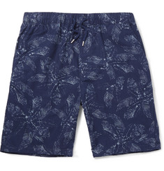 Albam Easy Printed Cotton Shorts