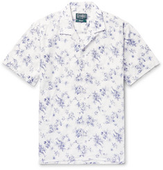 Gitman Vintage Camp-Collar Printed Cotton Shirt