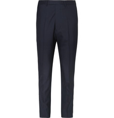 Officine Generale Jacques Piped Wool Trousers