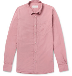 Officine Generale Garment-Dyed Cotton Shirt
