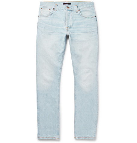 Dude Dan Organic Denim Jeans - Light denim