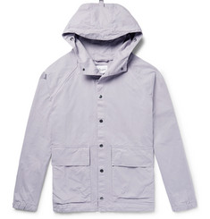 Albam Smock Cotton-Twill Hooded Jacket