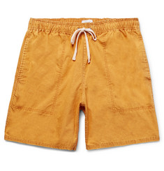 Saturdays NYC Ritchie Mineral-Washed Cotton Shorts
