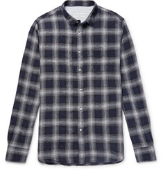 Officine Generale Checked Linen Shirt