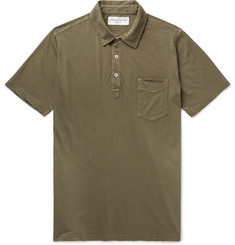 Officine Generale - Slim-Fit Cotton Polo Shirt