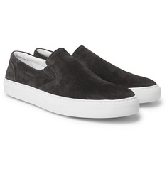 Officine Generale - Stacey Suede Slip-On Sneakers