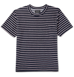 Howlin' Psycho Killer Striped Cotton-Blend Terry T-Shirt