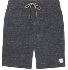 Paul Smith Waffle-Knit Mélange Cotton-Blend Jersey Shorts