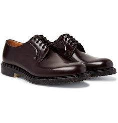 Church's Shannon Whole-Cut Polished-Leather Derby Shoes