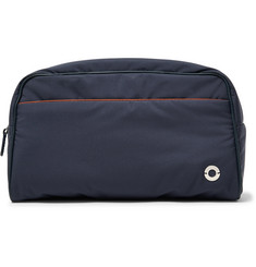 Loro Piana Leather-Trimmed Storm System Nylon Wash Bag