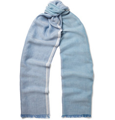 Loro Piana Checked Cotton Scarf