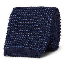 Loro Piana Knitted Silk Tie