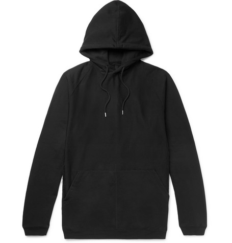 TAKAHIROMIYASHITA THE SOLOIST Oversized Distressed Loopback Cotton-Jersey Hoodie
