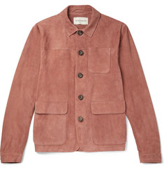 Oliver Spencer - Slim-Fit Suede Shirt Jacket