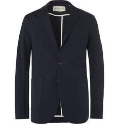 Oliver Spencer Theobald Unstructured Stretch-Cotton Seersucker Blazer