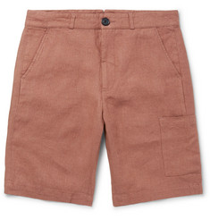 Oliver Spencer Judo Wide-Leg Linen Shorts